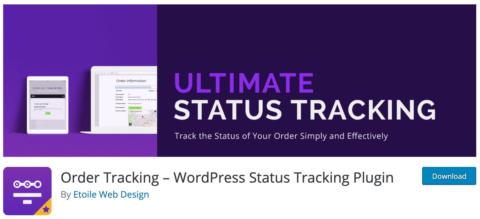 Order Tracking – WordPress Status Tracking Plugin