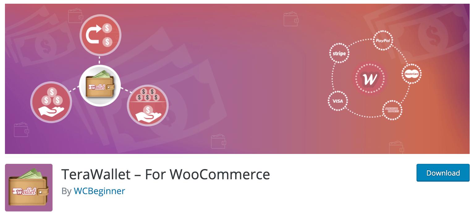 TeraWallet - Woo wallet plugin for WordPress