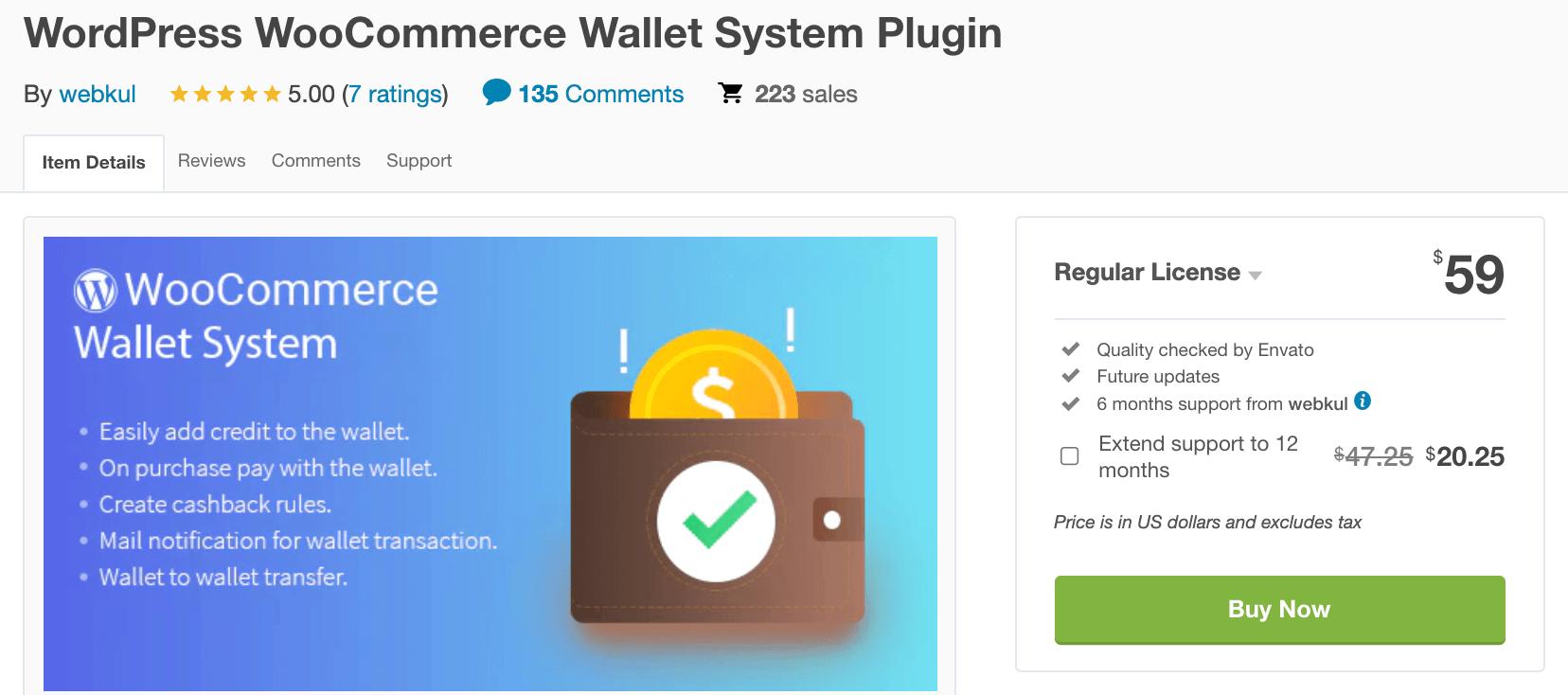 WordPress WooCommerce Wallet System Plugin by webkul developers