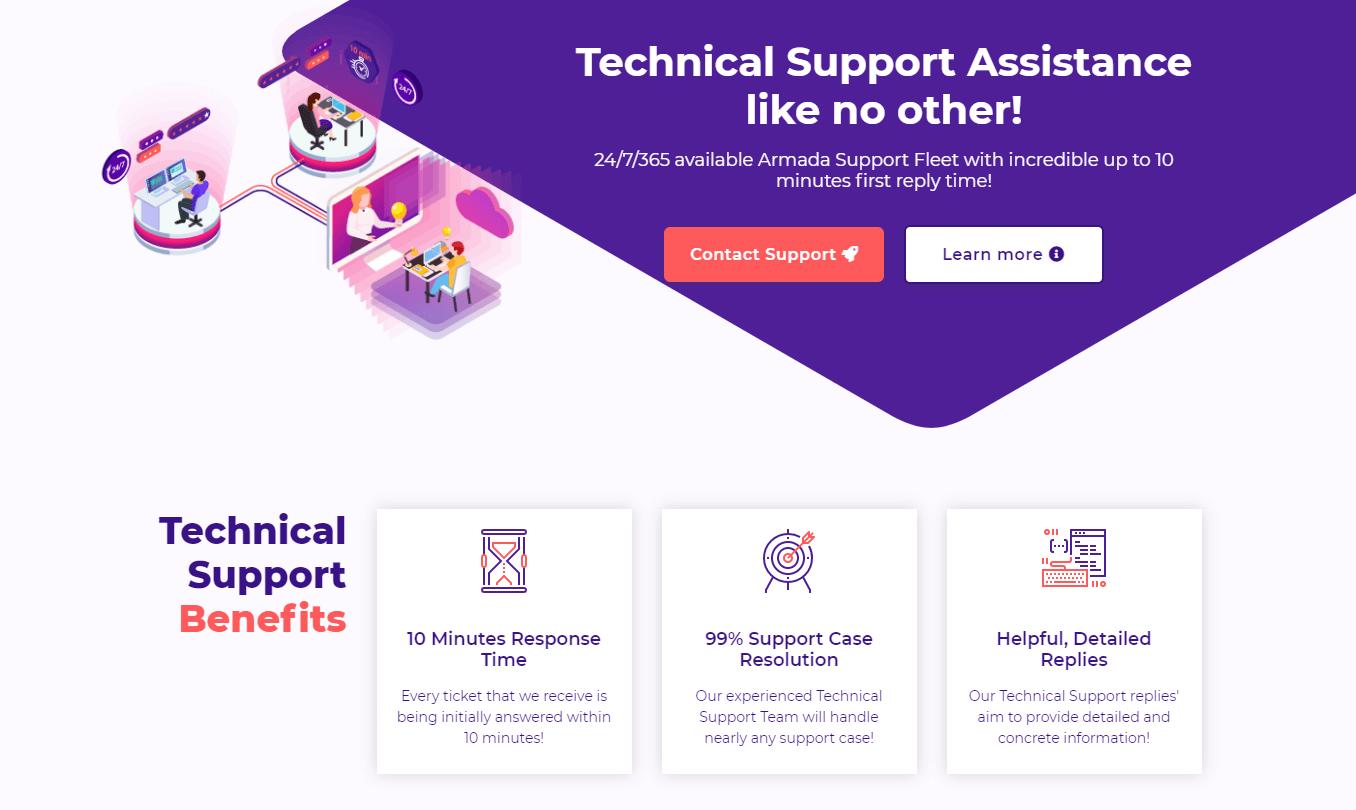 hostarmada-support-team