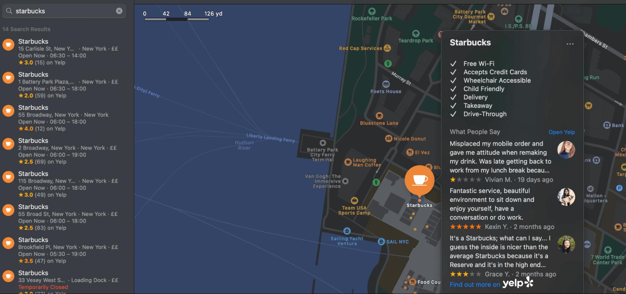 locations near me search box